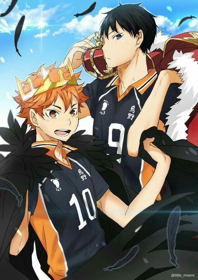 Аниме Волейбол Хината и Кагеяма (3)
