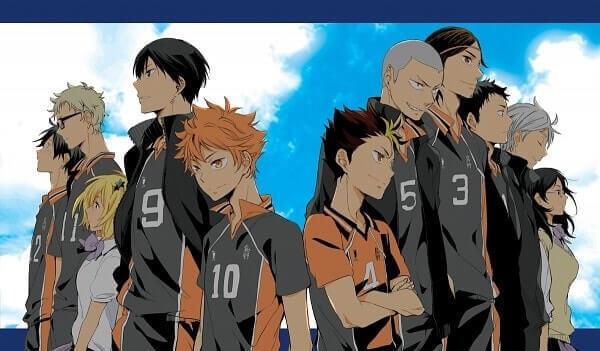 Аниме волейбол, крутые арты персонажей (11)