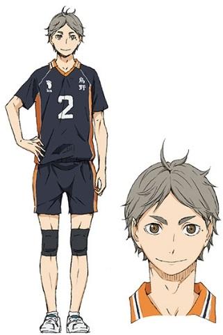 Аниме волейбол, крутые арты персонажей (16)