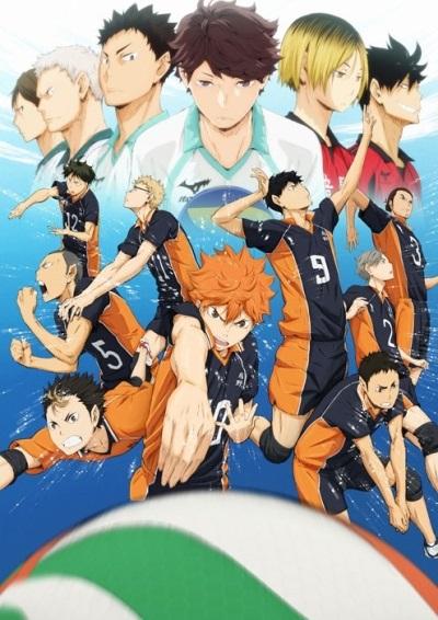 Аниме волейбол, крутые арты персонажей (6)