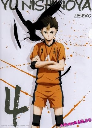 Аниме волейбол, крутые арты персонажей (9)