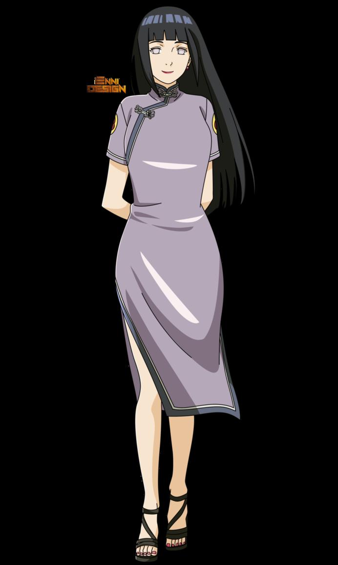 Арт Хината из аниме Наруто (1)