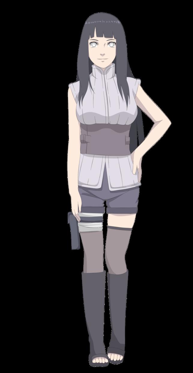 Арт Хината из аниме Наруто (2)