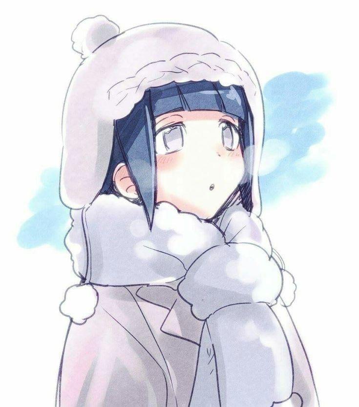 Арт Хината из аниме Наруто (8)
