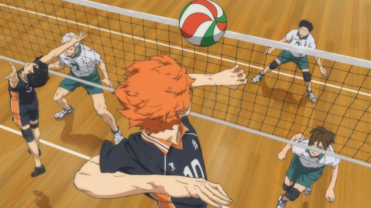 Арты Хината из аниме Волейбол (13)