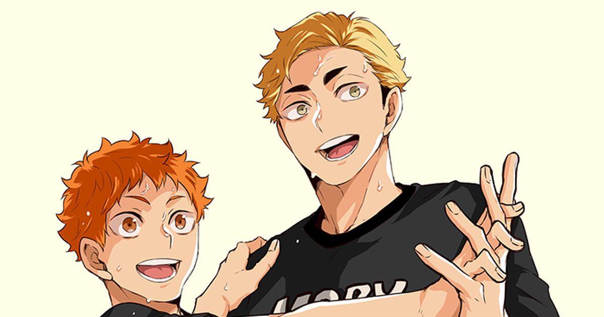 Арты Хината из аниме Волейбол (38)