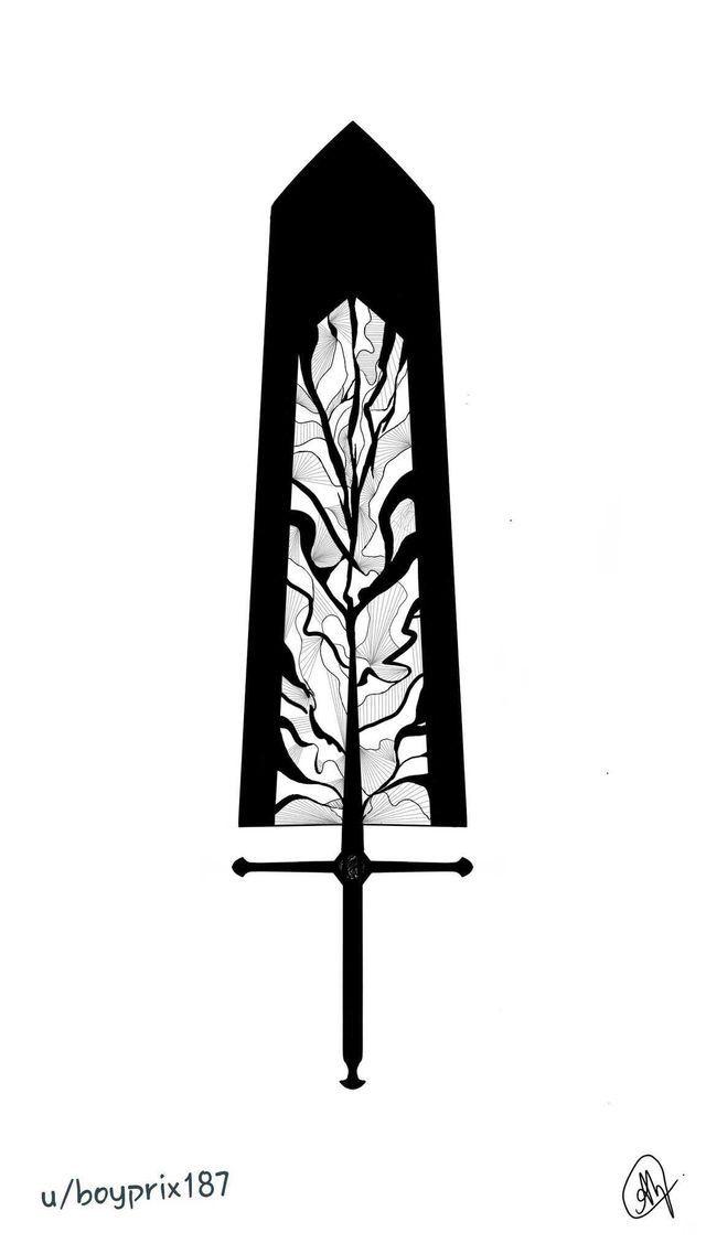 Черный Клевер Аста черная форма   коллекция артов (37)