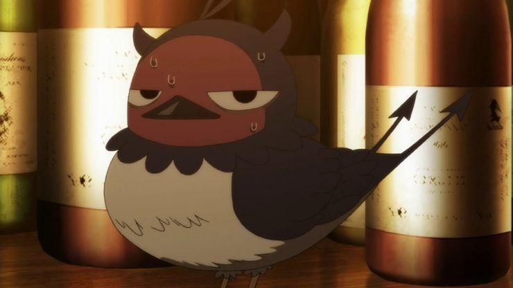 Черный Клевер птица Неро (17)