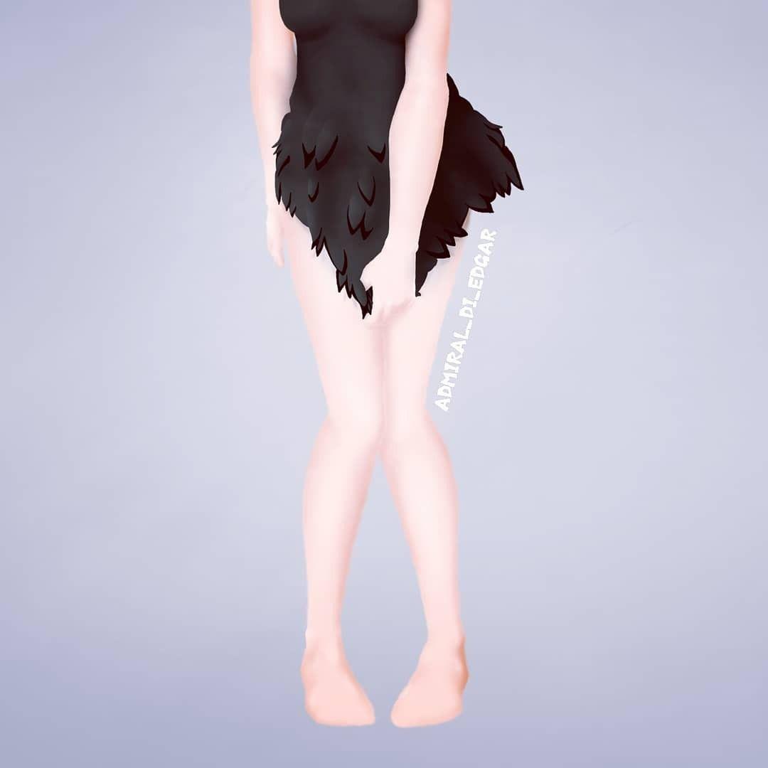 Черный Клевер птица Неро (20)