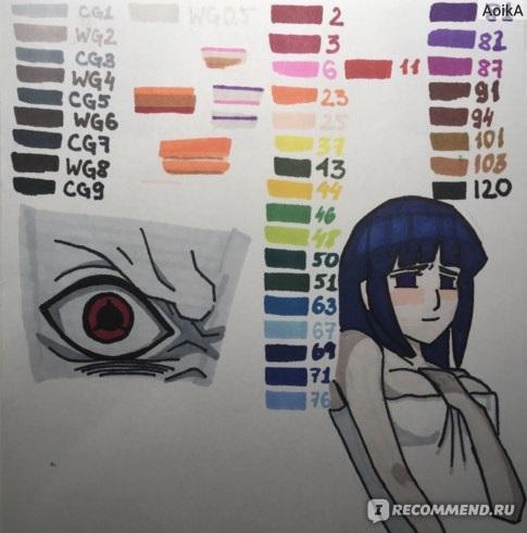 Для практики рисунки для скетчбука в стиле аниме 14