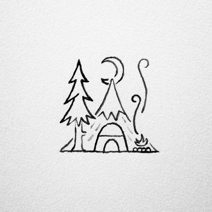 Для практики рисунки для скетчбука в стиле аниме 19
