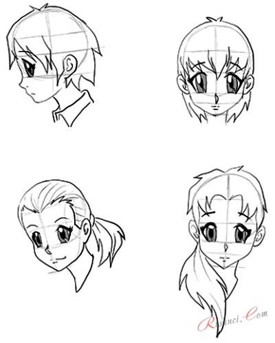 Интересные рисунки глаз аниме, скил улучшен 02