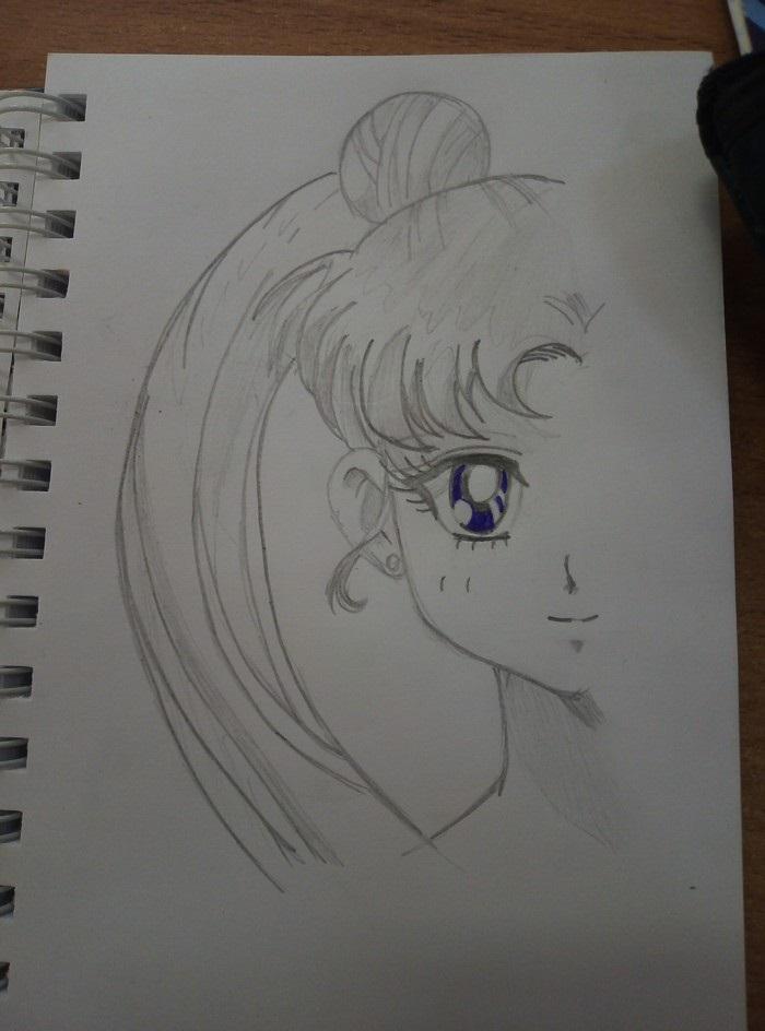 Интересные рисунки глаз аниме, скил улучшен 10
