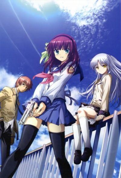 Картинки аниме девушек из ангельские ритмы 02