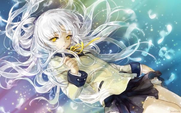 Картинки аниме девушек из ангельские ритмы 05