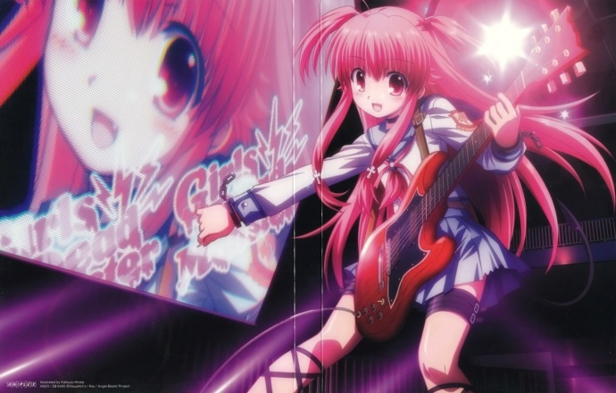 Картинки аниме девушек из ангельские ритмы 08