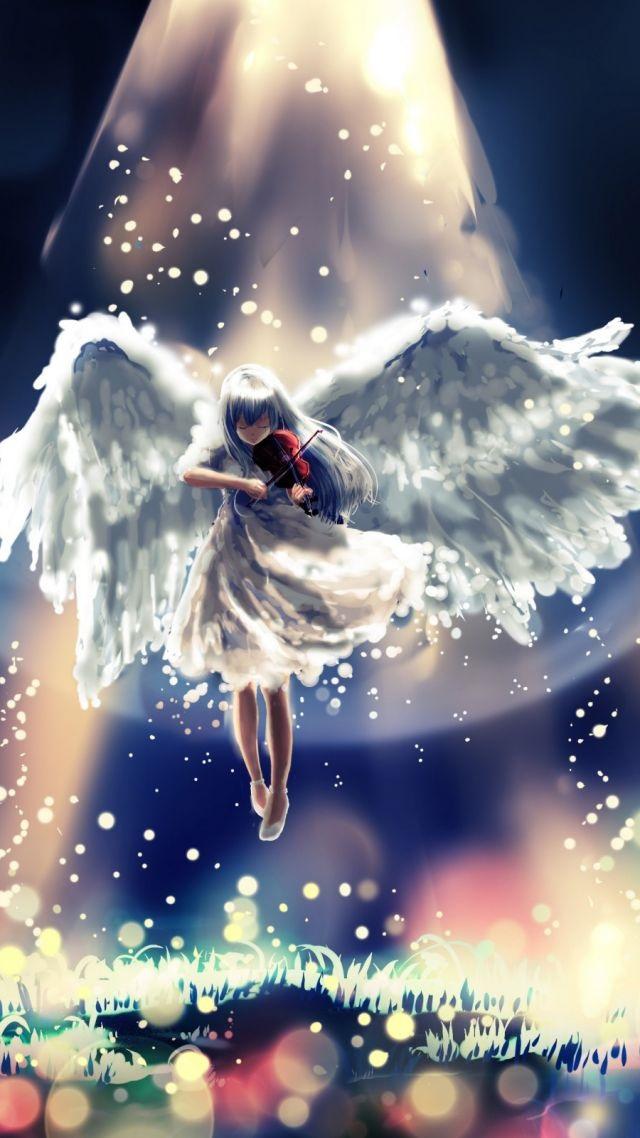 Картинки аниме девушек из ангельские ритмы 11