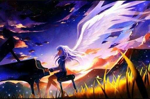 Картинки аниме девушек из ангельские ритмы 14