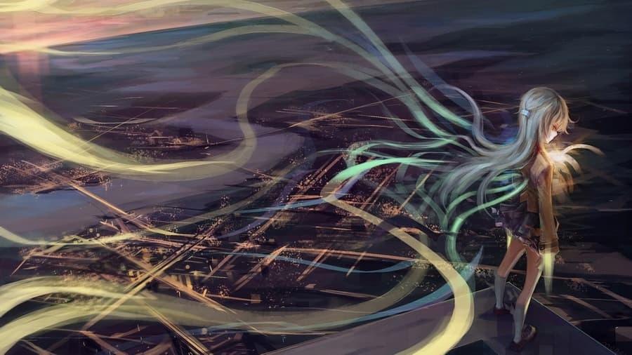 Картинки аниме девушек из ангельские ритмы 18
