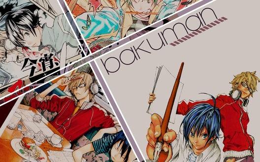 Картинки с аниме бакуман на заставку телефона 22