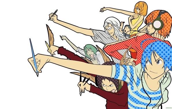 Картинки с аниме бакуман на заставку телефона 23