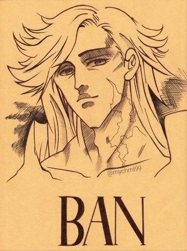 Картинки семь смертных грехов Мелиодас против Бана 05