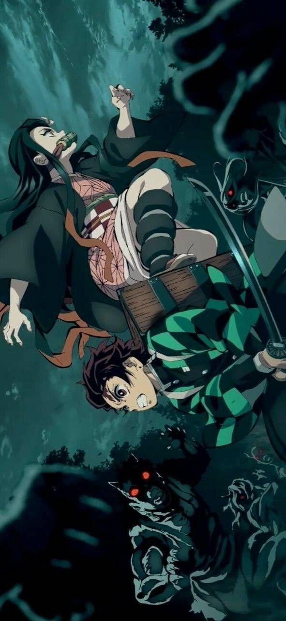 Клинок, рассекающий демонов Kimetsu no Yaiba арты, лучшая подборка (16)