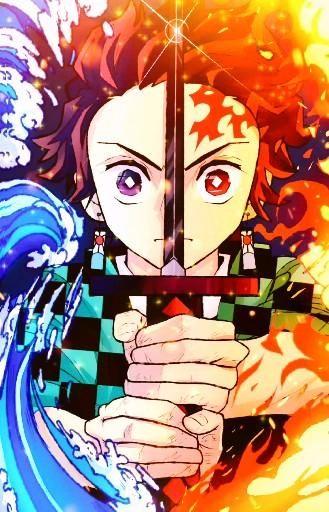Клинок, рассекающий демонов Kimetsu no Yaiba арты, лучшая подборка (36)