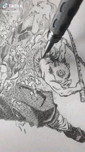 Клинок, рассекающий демонов популярные арты (1)