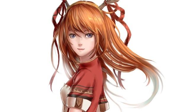 Красивые аниме арты девушек с волосами 11