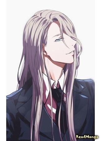 Красивые аниме арты парней с волосами 05