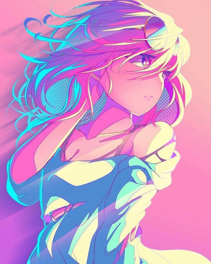 Красивые аниме авы для девушек 14