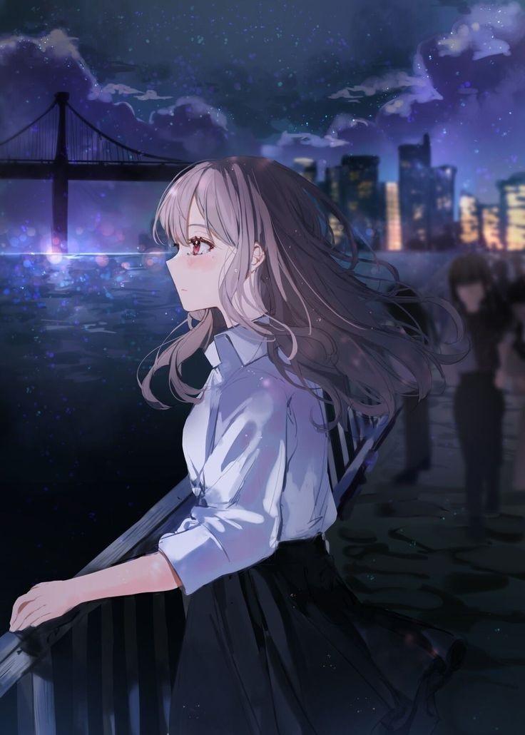 Красивые аниме авы для девушек 15