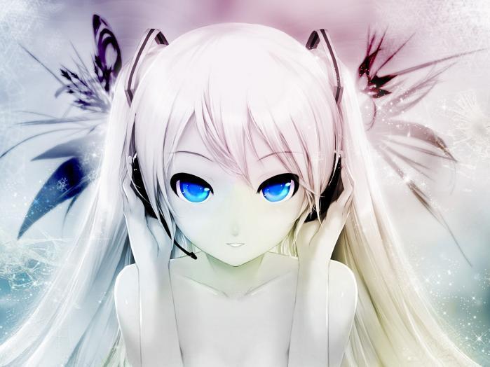 Красивые аниме авы для девушек 18