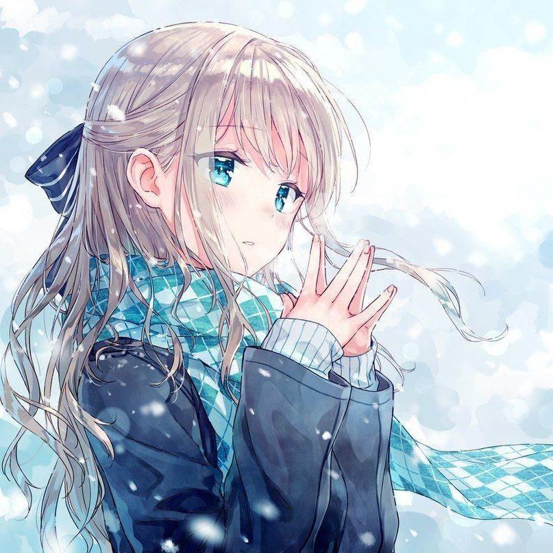 Красивые аниме авы для девушек 19