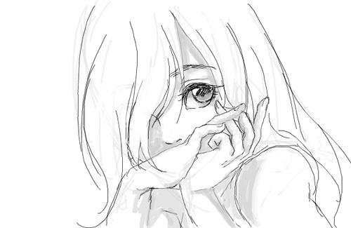 Красивые аниме рисунки для срисовки, легкие и красивые 23