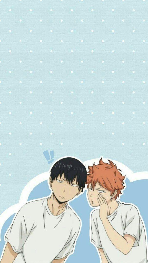 Красивые аниме волейбол обои на телефон 01