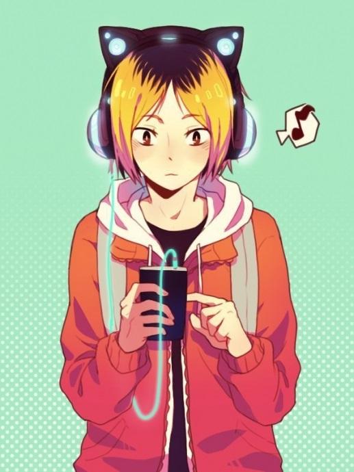 Красивые аниме волейбол обои на телефон 08