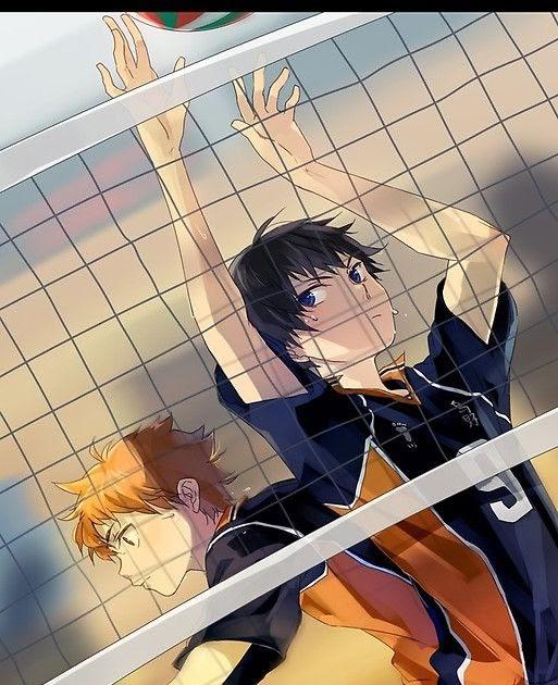 Красивые аниме волейбол обои на телефон 16