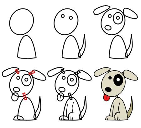 Маленькие рисунки, простые для детей 01