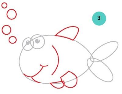 Маленькие рисунки, простые для детей 04