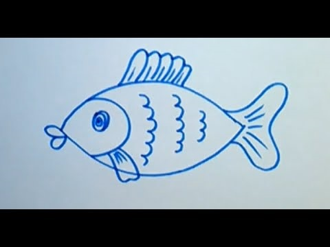 Маленькие рисунки, простые для детей 08