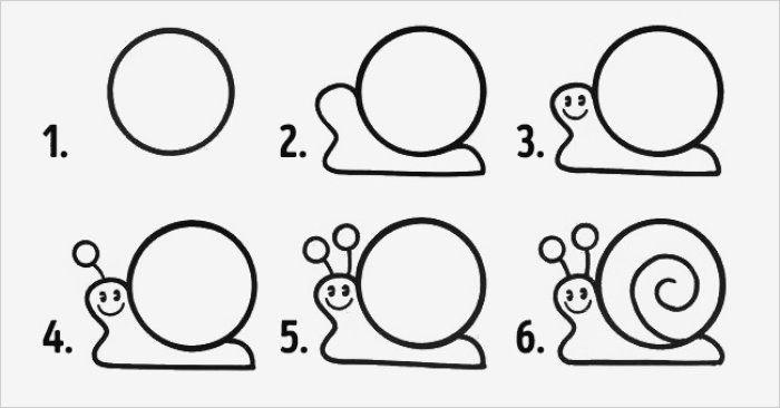 Маленькие рисунки, простые для детей 09