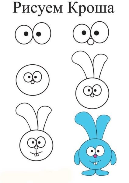 Маленькие рисунки, простые для детей 11