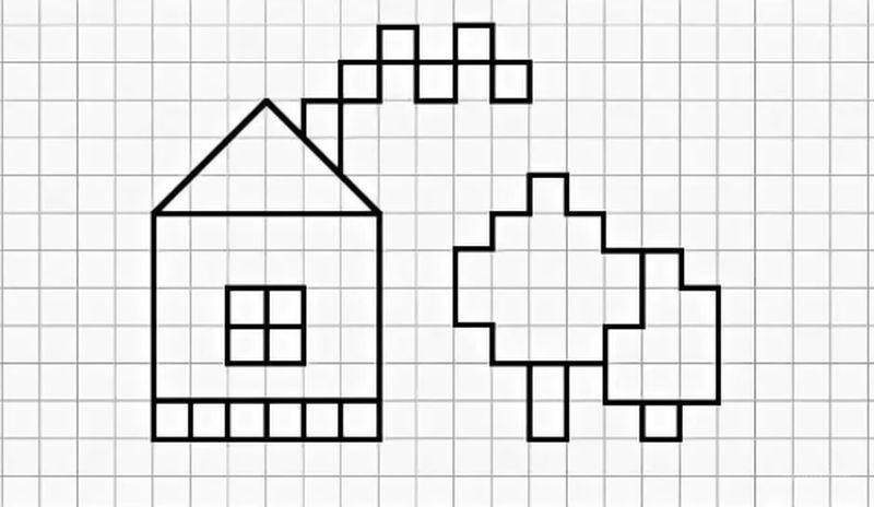 Маленькие рисунки, простые для детей 15