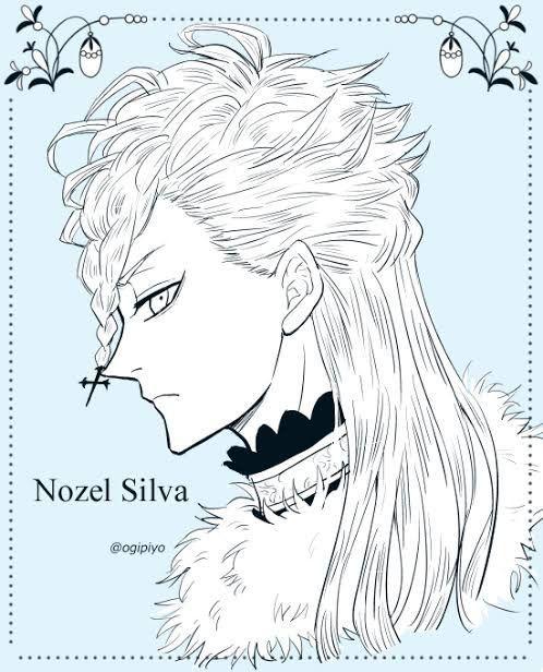 Ноэль Сильвер Черный Клевер картинки и арты (13)
