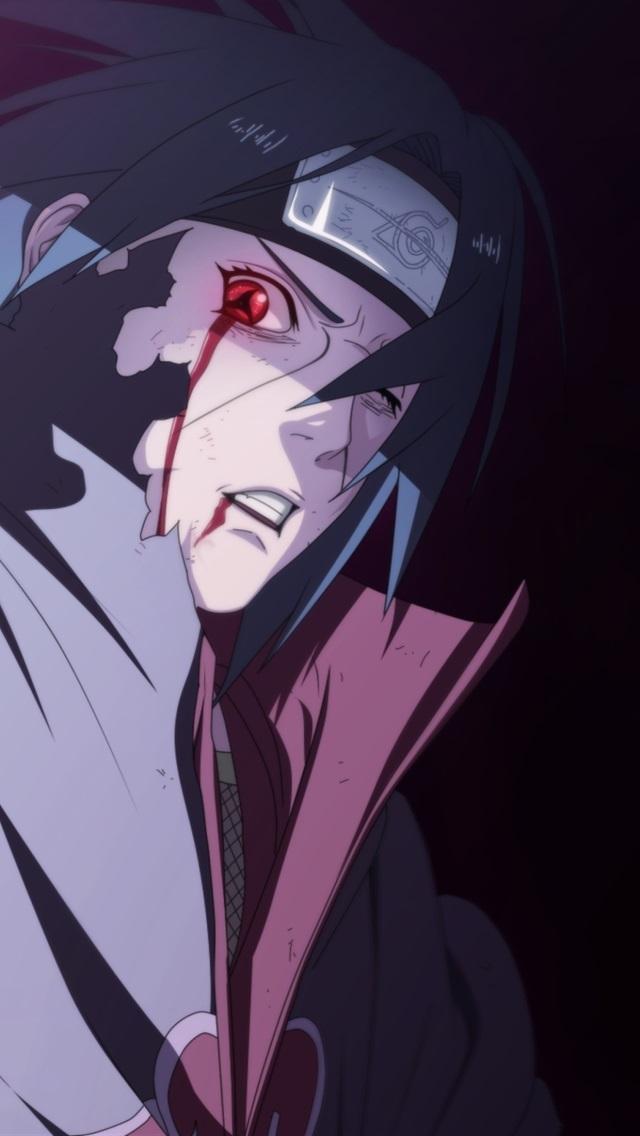 Топовые аниме обои на телефон наруто 05