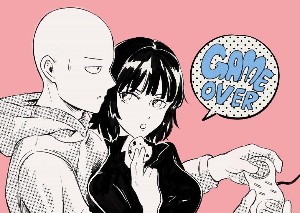 Ванпанчмен Сайтама и Фубуки любовь, фотки 02
