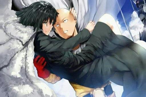 Ванпанчмен Сайтама и Фубуки любовь, фотки 03