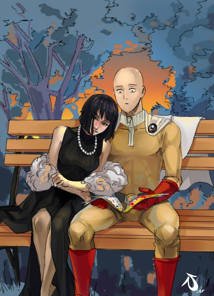 Ванпанчмен Сайтама и Фубуки любовь, фотки 10